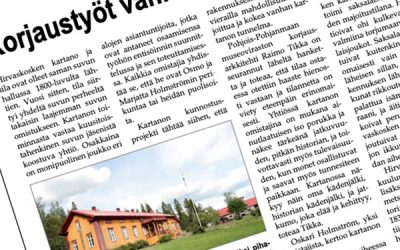 Hirvaskoski Pudasjärvi-lehdessä